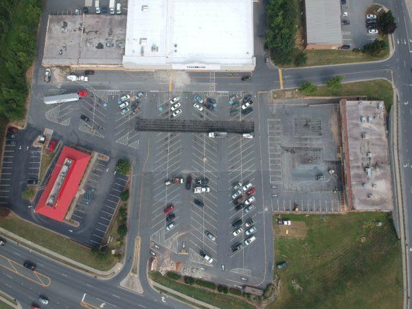 Paved Parking Lot - Food Lion