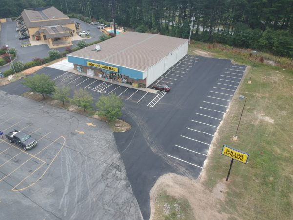 Parking Lot Paving - Dollar General, Biscoe, NC