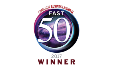 Charlotte Business Journal - Fast 50 Award