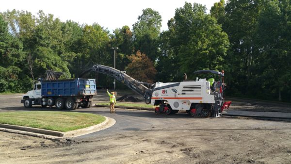 Site Clearing Asphalt Paving